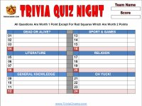 Trivia Champ-Free Printable Trivia Questions Answers & Games